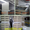 polyurethane sandwich wall panel for container