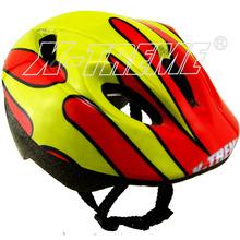 integrated molding technology BMX skate board helmet white EPS bicycle helmet RPIS0559