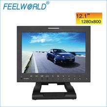 FEELWORLD 12 inch 1280*800 3G HD-SDI lcd broadcast monitor