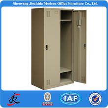 Modern military 2 door clothing steel locker/wardrobe