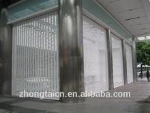 Guangzhou Iron Doors/Insulated Double Wall Rolling Shutters for Shop