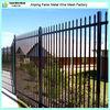 Powder coated tubular security cheap fence panels
