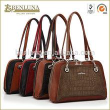BENLUNA New 2014 pu leather fashion handbags imitation wholesale