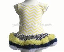 high quality baby girls dresses wave stripe short sleeve pettidress baby girls pettidress cute lovely fashionable dresses