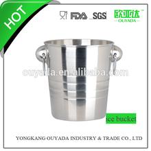 stainless steel beer metal bucket