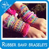 colorful small silicone rubber bands unique rubber band bracelet with rainbow loom rainbow loom rubber band refill
