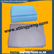 2014 New Products of Disposable Surgical Hospital Used Non-Woven Flat Bed Sheet