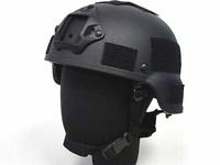 MICH TC-2000 ACH REPLICA HELMET WITH NVG MOUNT BLACK motorcycle helmet