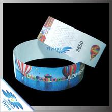 2015 Promotion* 1 Inch Waterproof Tyvek Paper Wristbands
