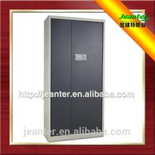 Promotional Environmental Economical 2 Door Steel Black Cabinets Industrial Furniture Metal Filing Cabinet