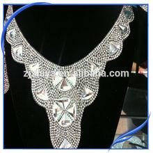 2014 new bead necklace epoxy resin jewelry
