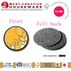 2014 Factory Direct Selling colorful Felt Coaster Hot Sales