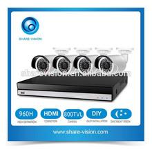 High Quality Affordable DVR Camera Kits CCTV Set
