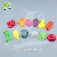 cheap plastic vegetable and fruit Mold plasticine