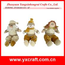 Christmas stuffed toy ZY11S116-1-2-3 12'' bike christmas decorations