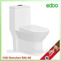 Fabricant de la chine sanitaires nouveau design siphon& lavage une toilette pièce