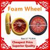 Hot sale high quality cheap 13 inch flat free foam wheel 3.00-8 pu wheel