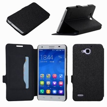 Leather Case Flip Cover for Huawei Honor 3C