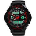 2014 venta caliente nuevo diseño de moda de goma reloj deportivo digital con moq100pcs