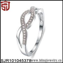 Infinity Designs AAA Zirconia Paved Women Fancy Rings