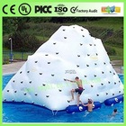 Inflatable iceberg rock climbing toy