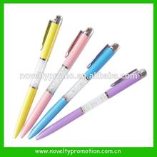 Crystal metal pen