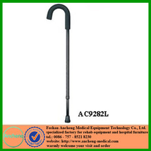 Foshan cane factory for design and production of top standard cane with arc handgrip and a big variety an