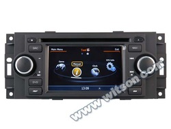 WITSON CAR DVD JEEP PATRIOT 2008-2009 WITH 1.6GHZ FREQUENCY 1080P 1G DDR RAM 8GB FLASH CAPACTIVE SCREEN