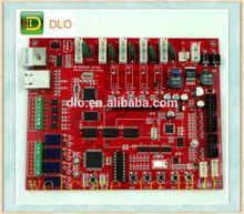 Red solder mask Multilayer Pcb Board