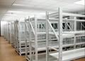 Ampliamente utilizado para el almacenamiento de la caja y de mercancías a granel de acero estantería longspan/de tipo medio trasiego