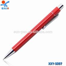 orange high quality plastic ballpoint pen for gift