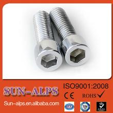 supply Titanium screw,Titanium hex socket hardware,Titanium allen bolt cap
