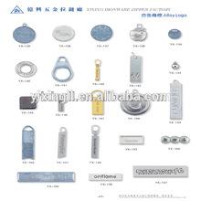Zinc alloy custom logo badge handbag metal logo custom logo jewelry tags