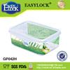 Easy lock 1150ml walmarts plastic storage box