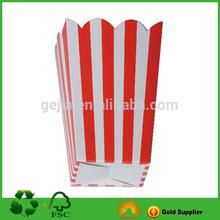 paper popcorn packing box