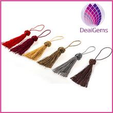 Mixed colors nipple curtain decorative tassel