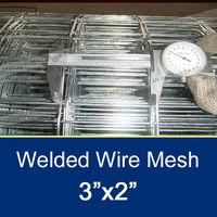 2.1MM /3''x2''Steel Matting Galvanized Welded Wire Mesh