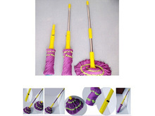 Microfiber Mop Magic Spin Mopwith colourful plastic parts and metal/steel handle