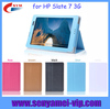 Hot Sale case cover for hp slate 7 3G with PC back cover, cover case for hp slate 7 tablet