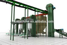 Compost Powder fertilizer production line/pig manure organic fertilizer production line