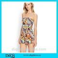 algodão floral impressão projetos vestido de verão meninas projetos vestido vestido de design para as meninas macacao vestido padrão