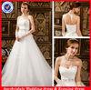 SA9473 Lace bodice sweetheart bling wedding dress made order to china