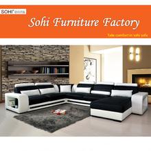 u shaped fabric sectional sofa