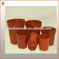 Barato vasos de flores de plástico atacado