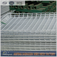 In Stock Galvanized Welded Mesh/Welded Wire Mesh Panel/STEEL MATTING (Factory)