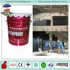 Basement and wall brushing black asphalt water based polyurethane waterproof coating