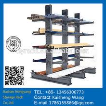 Metal cantilever storage shelf,steel pipe storage rack,pipe rack.