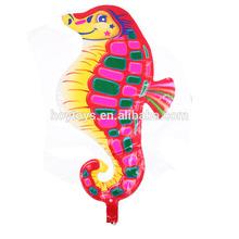 Long Sea Horse Shape Animal Foil Balloon