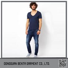 China Wholesale Custom Modal And Cotton Blank T-Shirts