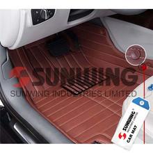 rubber disposable colorful decorative car mats